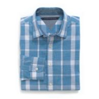 CUSTOM FIT SPRING PLAID SHIRT $59.99
