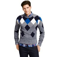 MARLED ARGYLE SWEATER $149.00