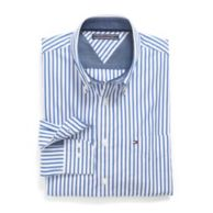 CUSTOM FIT PINSTRIPE SHIRT $79.00