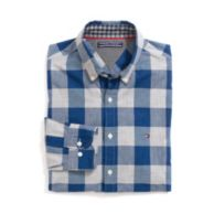 NEW YORK FIT BUFFALO PLAID CAMP SHIRT $69.00