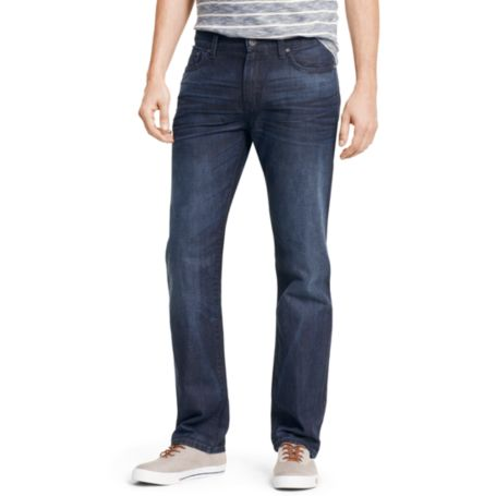 Image for CUSTOM STRAIGHT INDIGO JEAN from Tommy Hilfiger USA