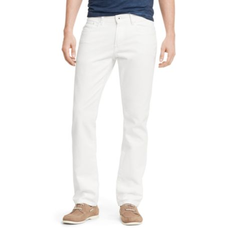Image for SLIM STRAIGHT WHITE JEAN from Tommy Hilfiger USA