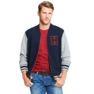 KNIT BASEBALL JACKET $149.50