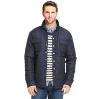 QUILTED NYLON SHIRT JACKET $199.00
