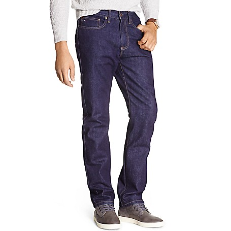 Tommy Hilfiger Relaxed Fit Denim - Rinse