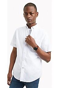 타미 힐피거 Tommy Hilfiger Classic Fit Shirt In Classic Cotton,BRIGHT WHITE