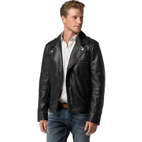 Tommy Hilfiger Tailored Biker Jacket - Midnight