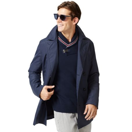 Tommy Hilfiger Spring Weight Peacoat - Midnight - Xxl