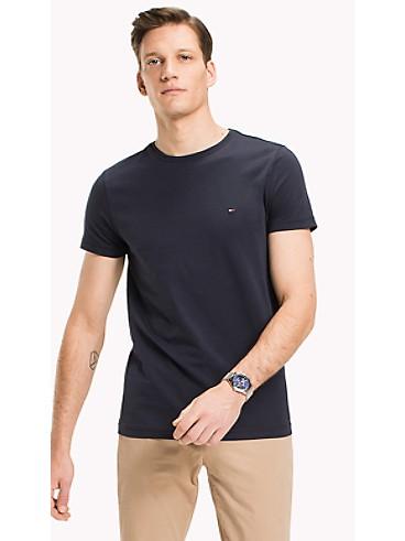 타미 힐피거 티셔츠 Tommy Hilfiger Slim Fit Stretch T-Shirt
