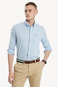 타미 힐피거 Tommy Hilfiger Textured End-on-End Shirt