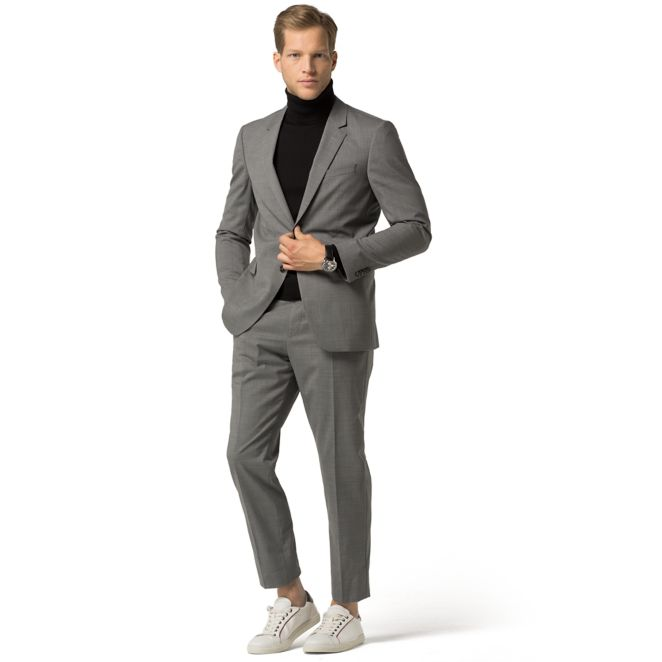 TH FLEX TAILORED COLLECTION WOOL SUIT | Tommy Hilfiger