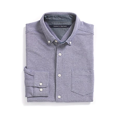 Tommy Hilfiger Fashion Knit - Blue Outlet Exclusive Style.96% Cotton/ 4% ElastaneMachine Washable.Imported.