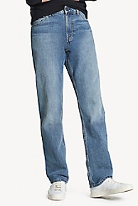 타미 힐피거 Tommy Hilfiger Classic Wash Regular Fit Jean,MEDIUM WASH