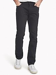 타미 힐피거 블랙진 Tommy Hilfiger Slim Fit Essential Black Jean,BLACK DENIM