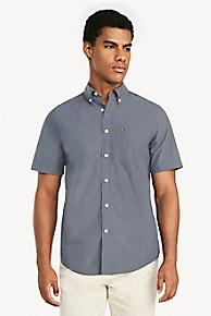 타미 힐피거 Tommy Hilfiger Short-Sleeve Pocket Shirt