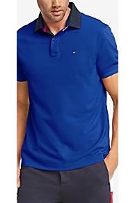 타미 힐피거 Tommy Hilfiger Essential Performance Polo,MAZARINE BLUE