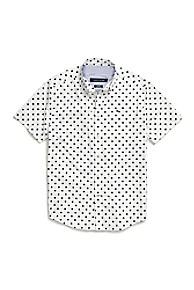 타미 힐피거 Tommy Hilfiger Star Print Shirt In Cotton