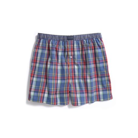Image for PLAID BOXER from Tommy Hilfiger USA