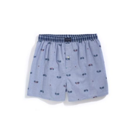 Image for BICYCLE PRINT WOVEN BOXER from Tommy Hilfiger USA