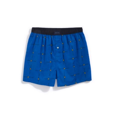 Image for TH LOGO SHIELD WOVEN BOXER from Tommy Hilfiger USA