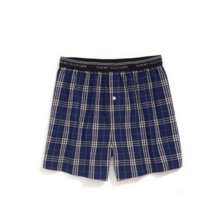 Image for TRIPLE CHECK WOVEN BOXER from Tommy Hilfiger USA
