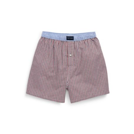Image for CHECK WOVEN BOXER from Tommy Hilfiger USA