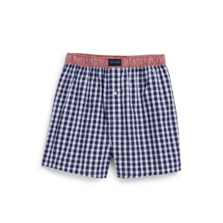 Image for GINGHAM WOVEN BOXER from Tommy Hilfiger USA