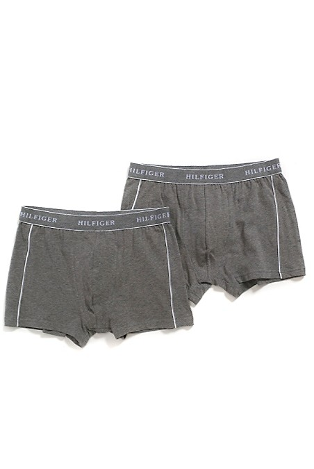 Tommy Hilfiger Men's Underwear. Two Pairs Of Boxer Briefs, Updated With Shorter Legs That Stay Hidden Beneath Workout Shorts. Comfortable As Always In Breathable Stretch Cotton. 93% Cotton, 7% Elastane. Machine Washable. Imported.