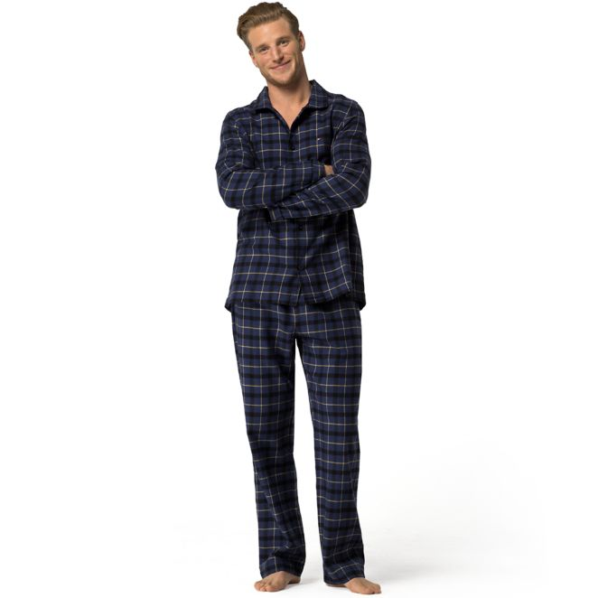 PLAID FLANNEL PAJAMA SET | Tommy Hilfiger