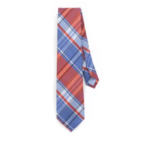 Image for SUNWASHED PLAID REGULAR TIE from Tommy Hilfiger USA