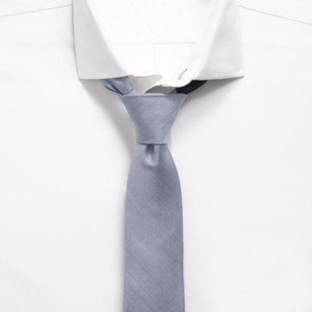 Image for CHAMBRAY SLIM TIE from Tommy Hilfiger USA