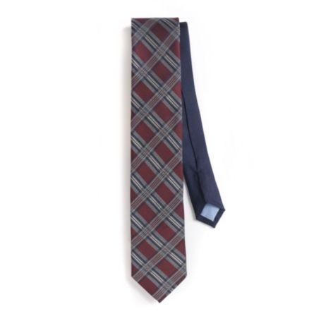 Image for SLIM FIT PLAID TIE from Tommy Hilfiger USA