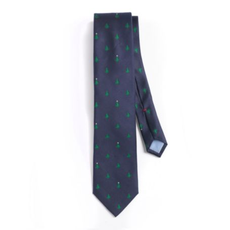 Image for REGULAR FIT CHRISTMAS TREE TIE from Tommy Hilfiger USA