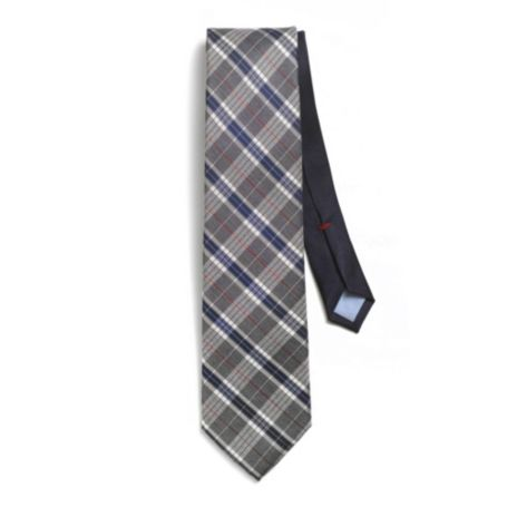 Image for GREY HEATHER PLAID TIE from Tommy Hilfiger USA