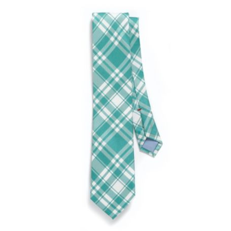 MICRO GINGHAM REGULAR TIE