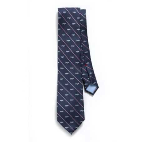 Image for REGULAR FIT NANTUCKET SHARK STRIPE TIE from Tommy Hilfiger USA