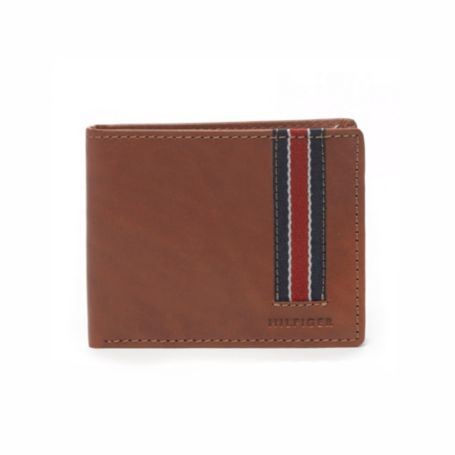 Image for STRIPE DETAIL PASSCASE WALLET from Tommy Hilfiger USA