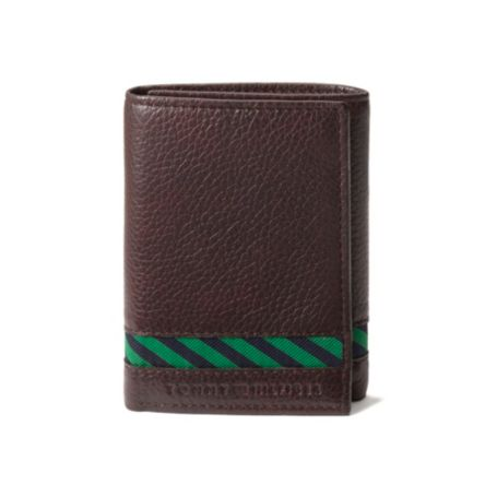 Image for STRIPE TRIFOLD WALLET from Tommy Hilfiger USA
