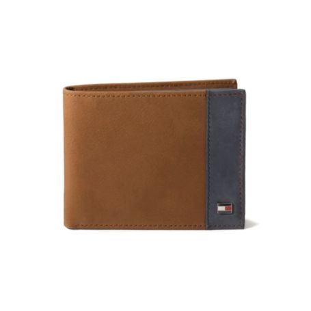 Image for TWO TONED PASSCASE WALLET from Tommy Hilfiger USA