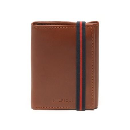 Image for ELASTIC CLOSER TRIFOLD WALLET from Tommy Hilfiger USA