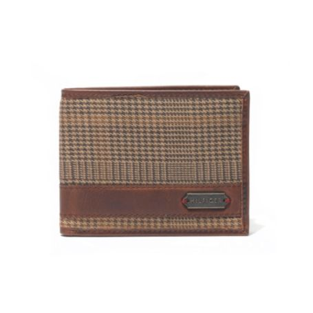 Image for HOUNDSTOOTH PASSCASE WALLET from Tommy Hilfiger USA