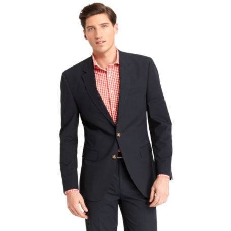 Image for COTTON POPLIN SUIT JACKET from Tommy Hilfiger USA