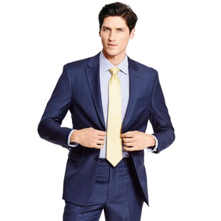 Image for BLUE SHARKSKIN BLAZER from Tommy Hilfiger USA