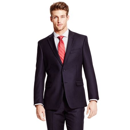 Image for NEW NAVY PINSTRIPE JACKET from Tommy Hilfiger USA