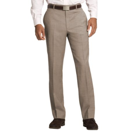Image for TAN SHARKSKIN SUIT PANTS from Tommy Hilfiger USA