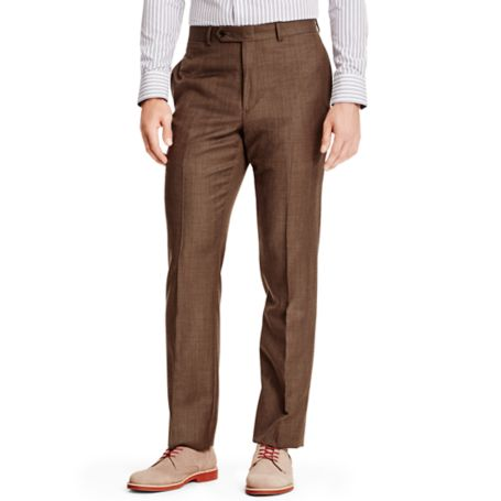 Image for BROWN SHARKSKIN SUIT PANT from Tommy Hilfiger USA