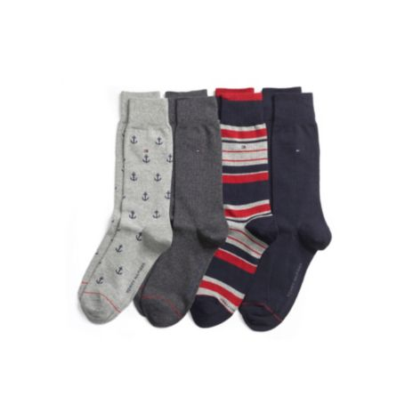 Image for NOVELTY 4 PACK SOCKS from Tommy Hilfiger USA