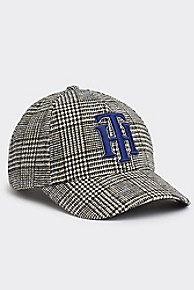타미 힐피거 우먼 모자 Tommy Hilfiger Glen Plaid Cap,POW