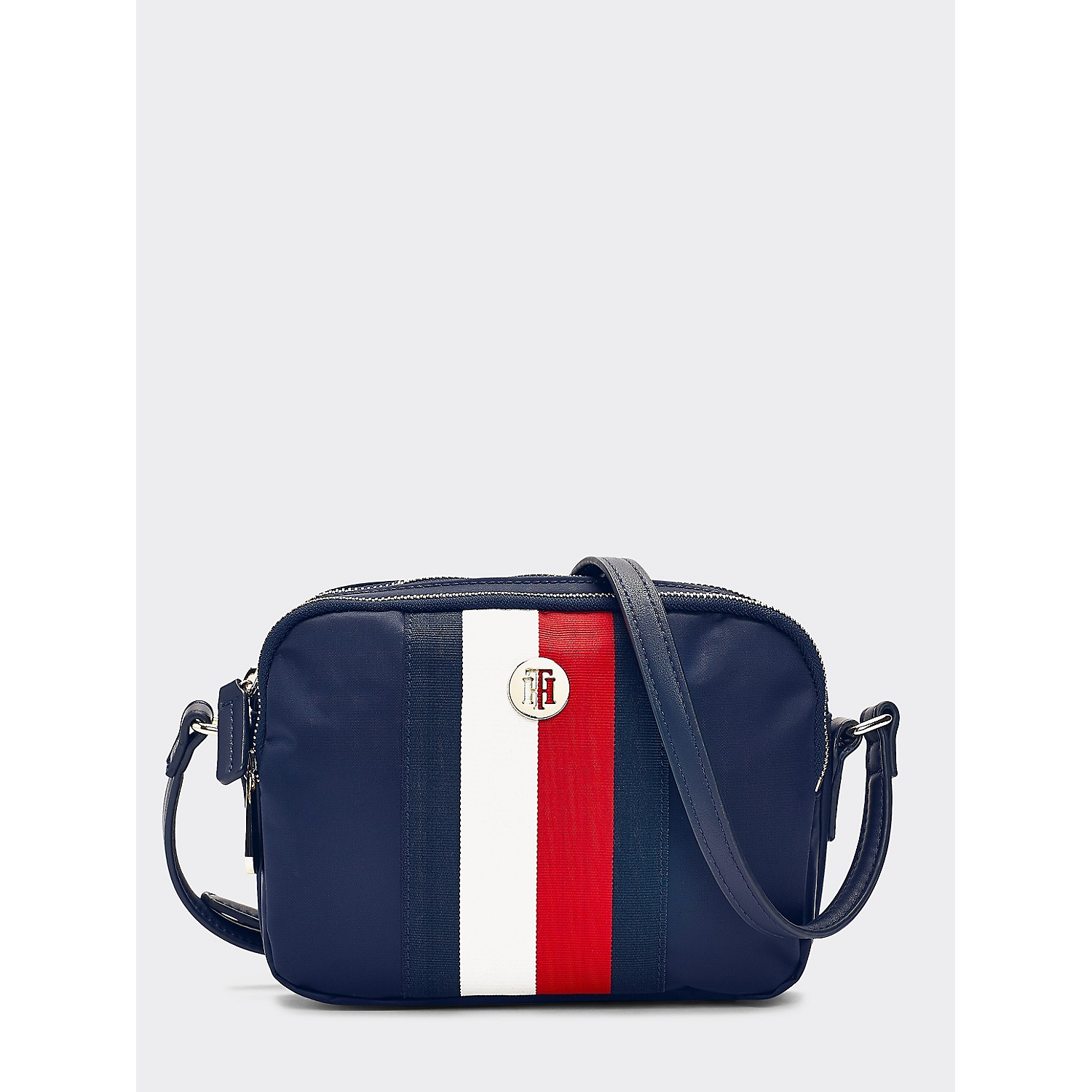 Tommy hilfiger Nylon Stripe Crossbody Bag