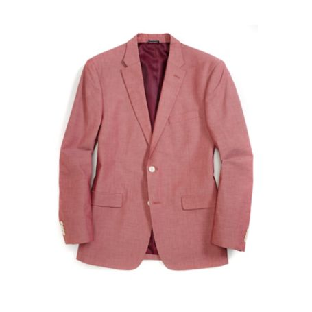 Image for RED CHAMBRAY BLAZER from Tommy Hilfiger USA